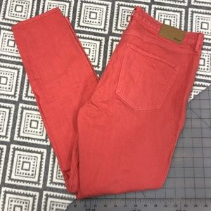 Madewell | Coral Colored Jeans